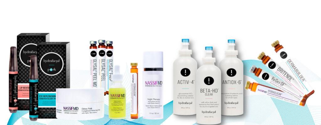 Kosmetyki i preparaty HydraFacial®